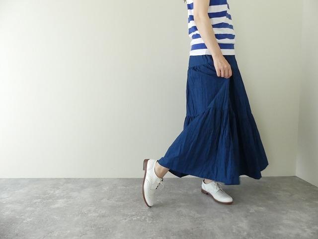 インディゴシャンブレーティアードスカートの商品画像4