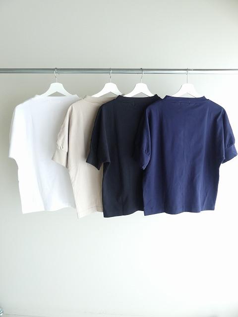 40/2天竺ハイネック半袖プルオーバーの商品画像3