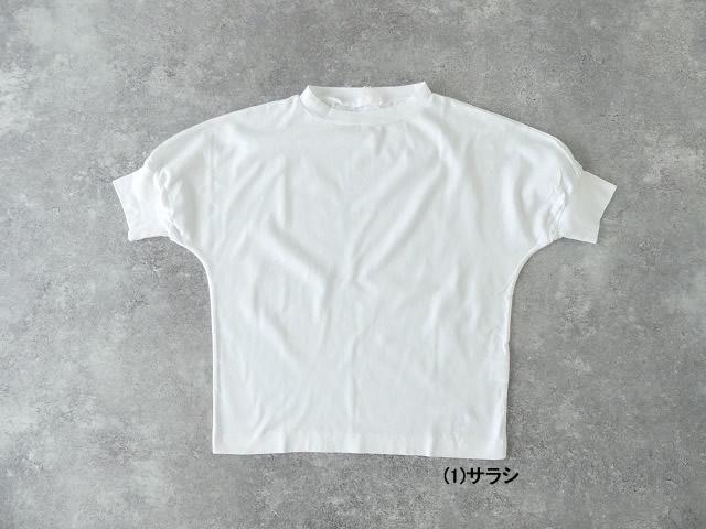 40/2天竺ハイネック半袖プルオーバーの商品画像4