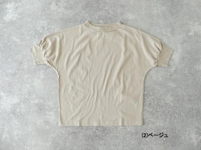 40/2天竺ハイネック半袖プルオーバーの商品画像6