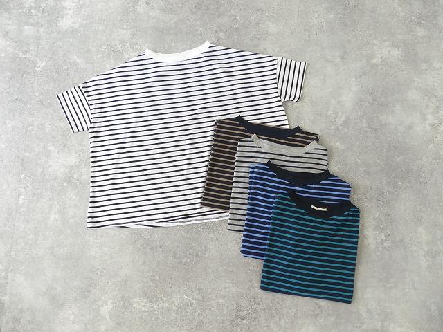 【SALE】サイロプレミアムボーダーワイドTシャツ