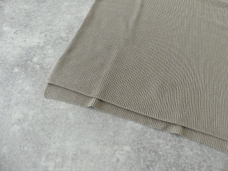 cotton aze VPO コットン畦Vネックプルオーバーの商品画像23
