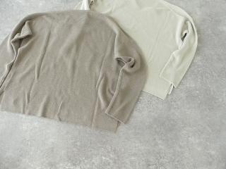 cotton aze VPO コットン畦Vネックプルオーバーの商品画像28