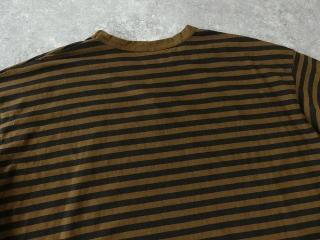 リサイクルムラ糸ボーダークルーネックワイドPOの商品画像30