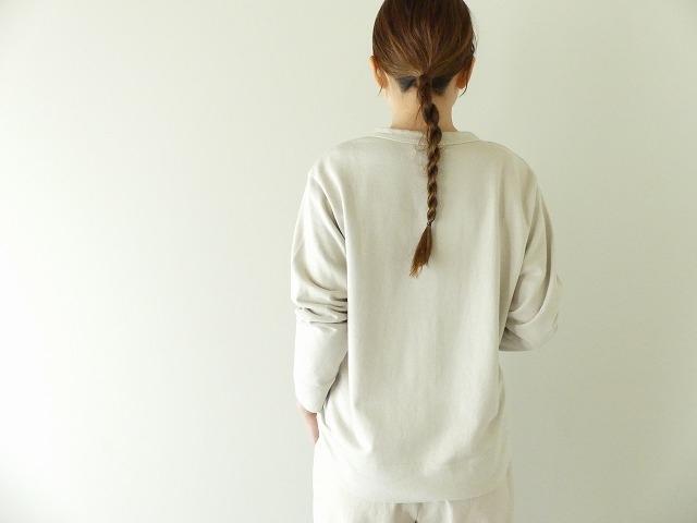 20/1オーガニック裏毛クルーネックの商品画像4