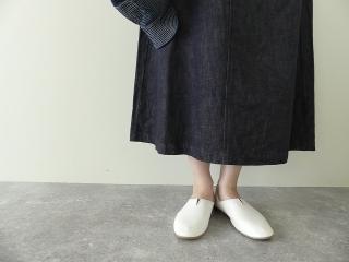 10オンスノットインディゴデニムスカートの商品画像15