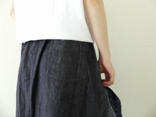 10オンスノットインディゴデニムスカートの商品画像16