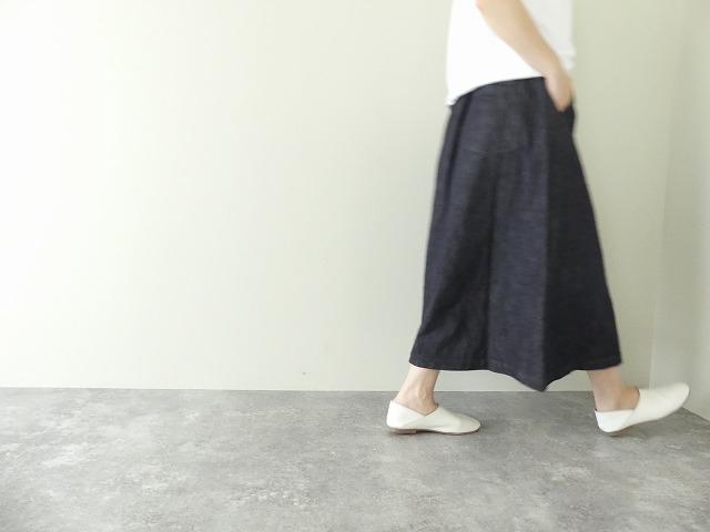 10オンスノットインディゴデニムスカートの商品画像6