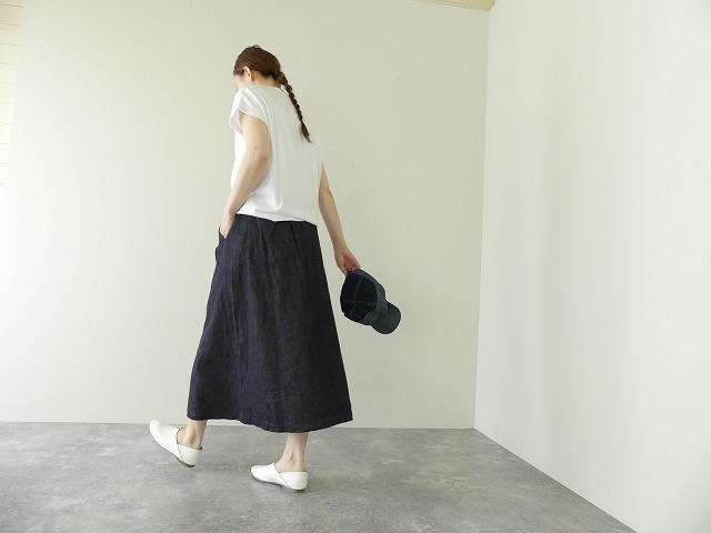 10オンスノットインディゴデニムスカートの商品画像7