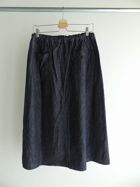 10オンスノットインディゴデニムスカートの商品画像8