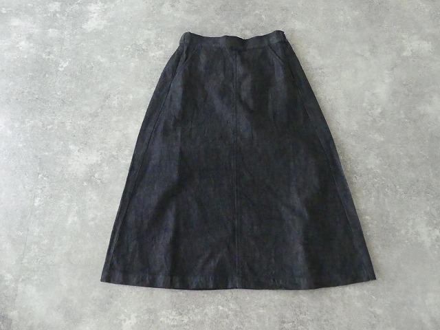 10オンスノットインディゴデニムスカートの商品画像9