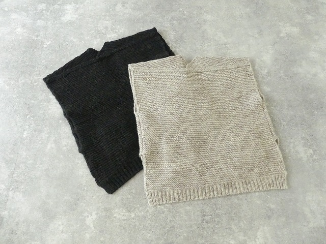 knit vest slub yarn スラブヤーンニットベストの商品画像10