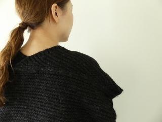 knit vest slub yarn スラブヤーンニットベストの商品画像15