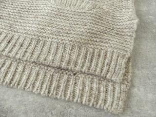 knit vest slub yarn スラブヤーンニットベストの商品画像22