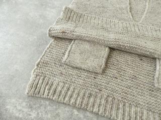 knit vest slub yarn スラブヤーンニットベストの商品画像23
