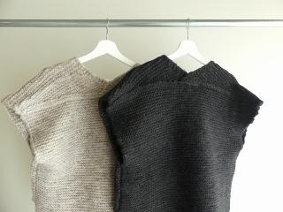 knit vest slub yarn スラブヤーンニットベストの商品画像24