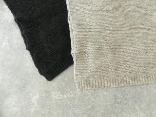 knit vest slub yarn スラブヤーンニットベストの商品画像25
