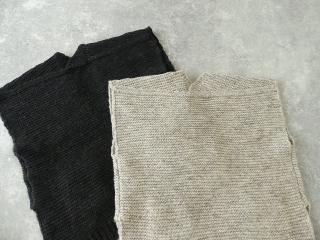 knit vest slub yarn スラブヤーンニットベストの商品画像26