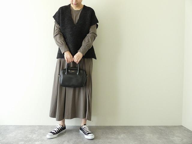 knit vest slub yarn スラブヤーンニットベストの商品画像1