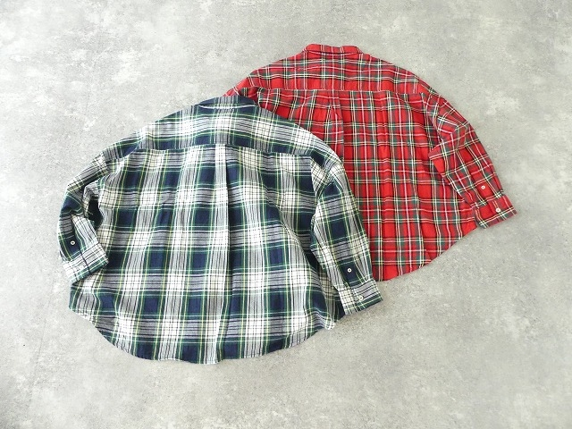 トラッドチェックツイルシャツの商品画像11