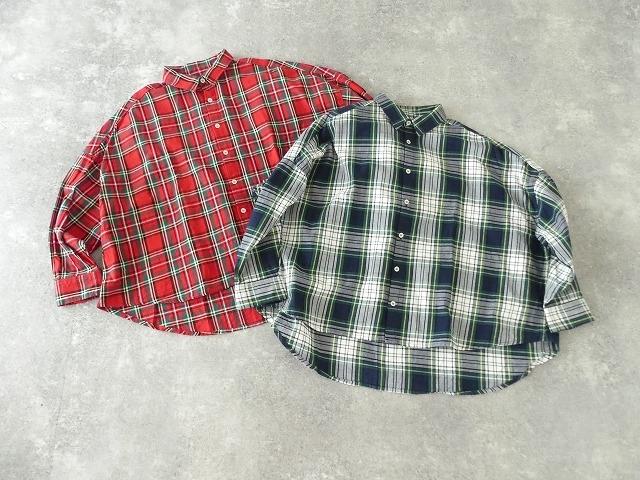 トラッドチェックツイルシャツの商品画像3