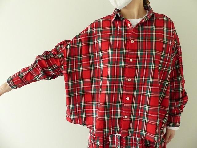 トラッドチェックツイルシャツの商品画像9