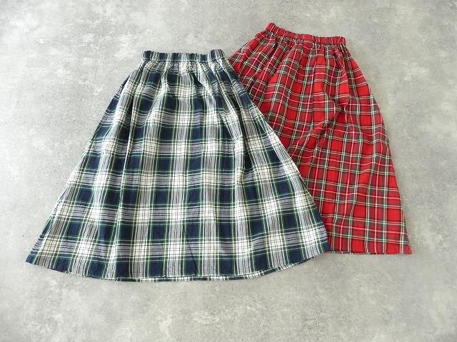トラッドチェックツイルスカートの商品画像10