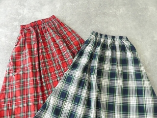 トラッドチェックツイルスカートの商品画像16