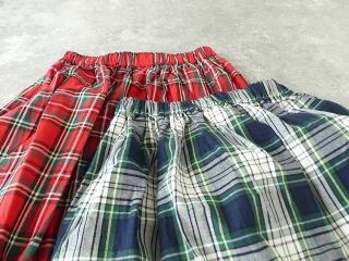 トラッドチェックツイルスカートの商品画像18
