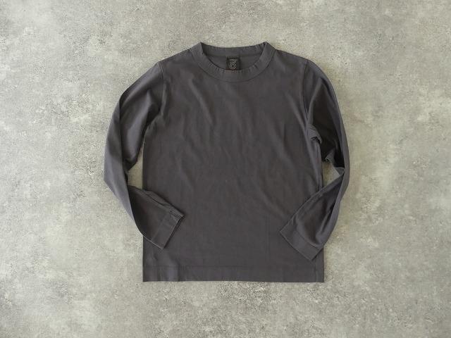 天竺長袖Tシャツ (3)グレーの商品画像1