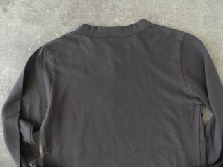 天竺長袖Tシャツ (3)グレーの商品画像15