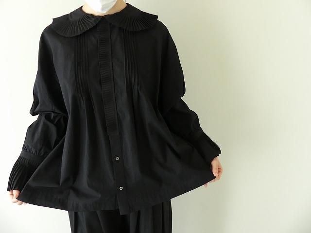 プリーツフリル衿ブラウスの商品画像1