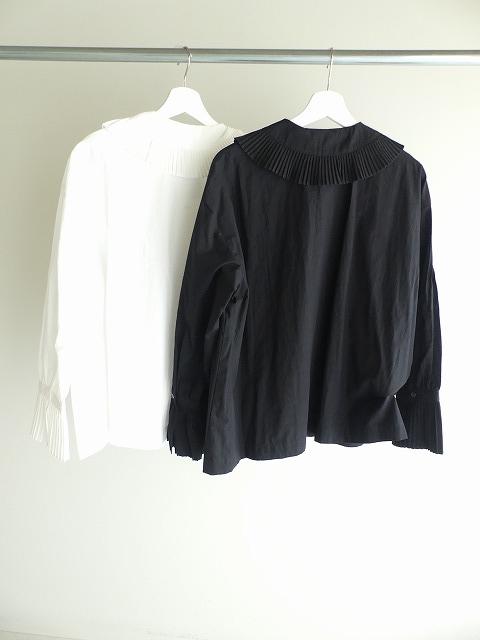 プリーツフリル衿ブラウスの商品画像10