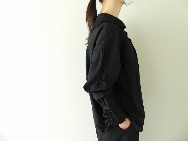 プリーツフリル衿ブラウスの商品画像6