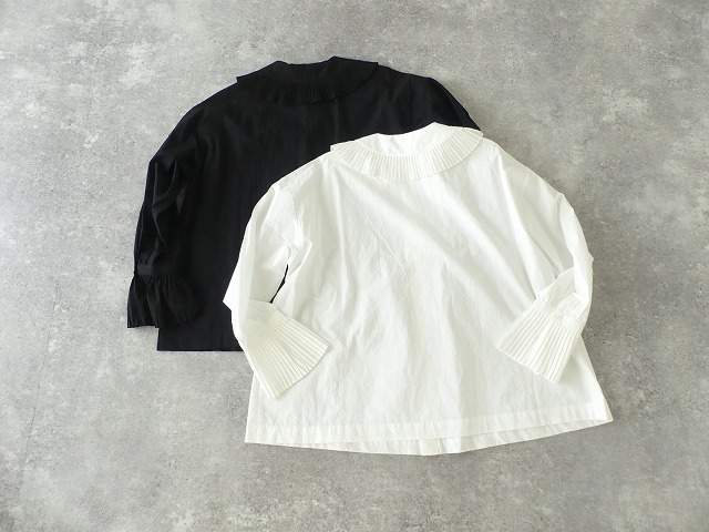 プリーツフリル衿ブラウスの商品画像9