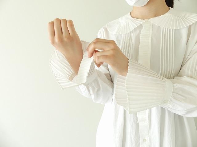 プリーツフリル衿ワンピースの商品画像4