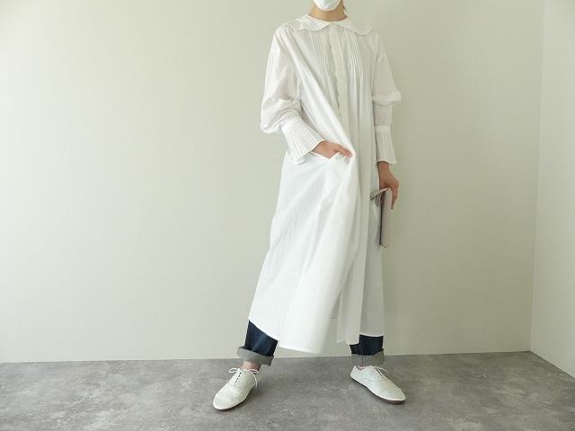 プリーツフリル衿ワンピースの商品画像6