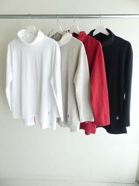 Girls インナーTシャツオフタートル長袖Tシャツの商品画像3