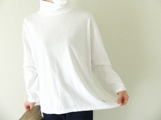 Girls インナーTシャツオフタートル長袖Tシャツの商品画像4