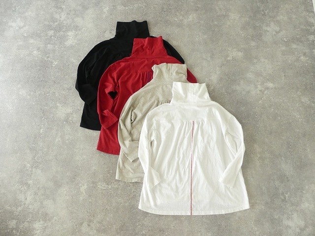 Girls インナーTシャツオフタートル長袖Tシャツの商品画像9