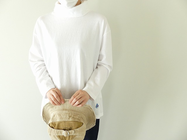 Girls インナーTシャツオフタートル長袖Tシャツの商品画像1