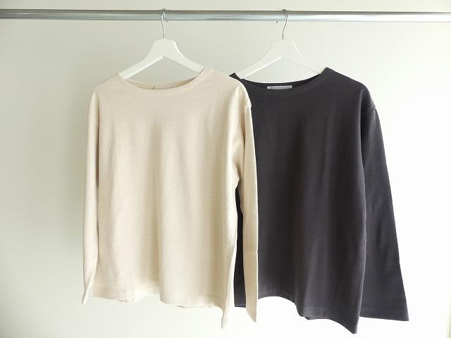 リサイクルコットン天竺バスクシャツの商品画像3