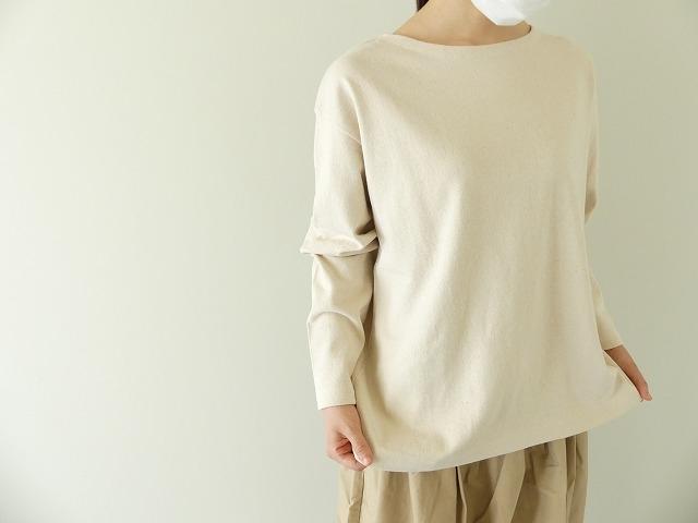 リサイクルコットン天竺バスクシャツの商品画像5