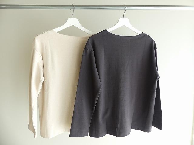 リサイクルコットン天竺バスクシャツの商品画像6