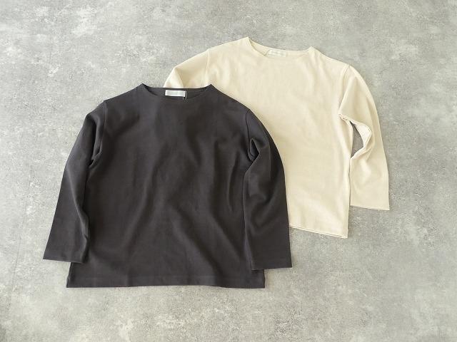 リサイクルコットン天竺バスクシャツの商品画像7