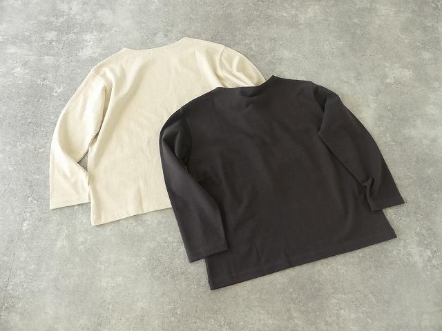 リサイクルコットン天竺バスクシャツの商品画像8