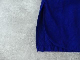 コットンリネン近江晒加工スタンドカラープルオーバーチュニックの商品画像23