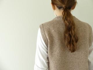 ウール天竺編みベストの商品画像15