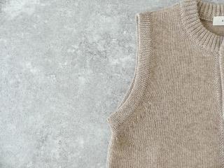 ウール天竺編みベストの商品画像20