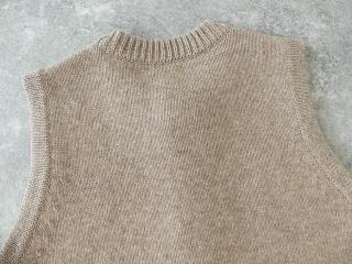ウール天竺編みベストの商品画像22